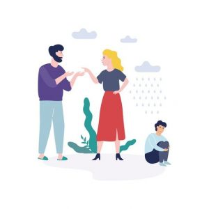 طلاق والدین در ایجاد اختلالات کودکان